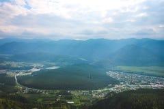 Les montagnes d'Altai pendant l'été Photos stock