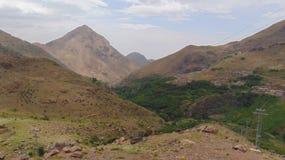 Les montagnes d'atlas Image stock