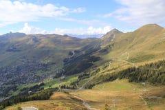 Les montagnes d'automne Photographie stock libre de droits