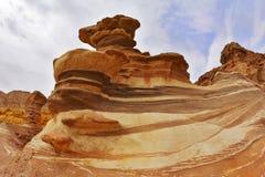 Les montagnes d'Eilat photographie stock