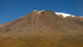 Les montagnes dans Siloli abandonnent, Bolivien Altiplano, Amérique du Sud Photo stock