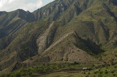 Les montagnes de Caucase Photo libre de droits