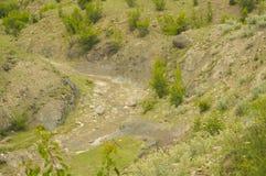 Les montagnes de Caucase Image libre de droits