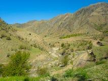 Les montagnes de Caucase Photographie stock