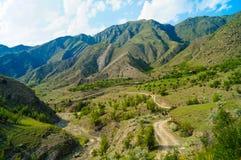 Les montagnes de Caucase Photo stock