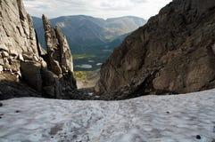 Les montagnes de Khibiny Photo libre de droits