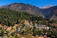 Les montagnes de l'Himalaya Image stock