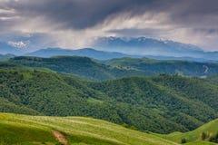 Les montagnes de la Russie, Caucase, Kabardino-Balkarie Le formatio Image libre de droits