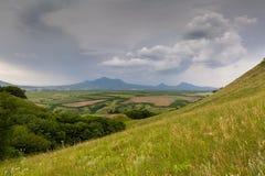 Les montagnes de la Russie, Caucase, les montagnes de la Russie, Caucase, Photographie stock