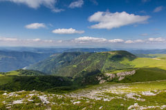 Les montagnes de la Russie, Caucase, République de Karachay-Cherkessia Photos libres de droits