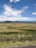 Les montagnes de Salt Lake City, Utah Images libres de droits