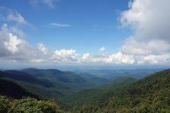 Les montagnes de smokey Image libre de droits