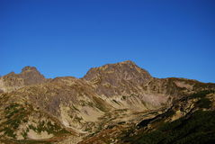Les montagnes de Tatra photo libre de droits