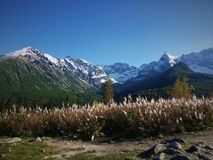 Les montagnes de Tatra ont capturé au meilleur moment images libres de droits