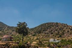 Les montagnes de Troodos Photographie stock libre de droits