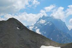 Les montagnes Dombaya Photographie stock