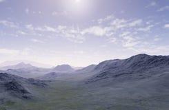 Les montagnes isolées illustration de vecteur