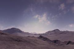 Les montagnes isolées Photos libres de droits