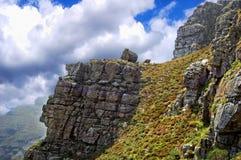 Les montagnes majestueuses Photographie stock libre de droits