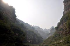Les montagnes majestueuses Images libres de droits