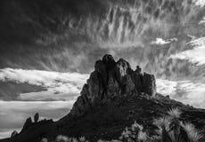 Les montagnes noires en Arizona occidental images stock