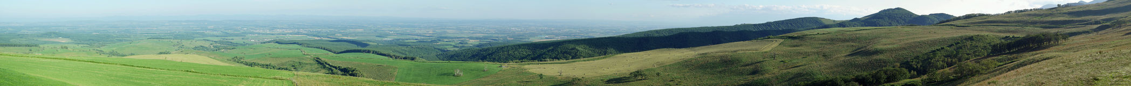 Les montagnes ont appelé Naitai Kogen Bokujo Photo libre de droits
