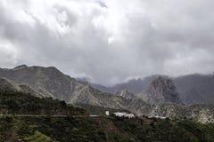 Les montagnes volcaniques de la La Gomera, région d'île des Îles Canaries Photos stock