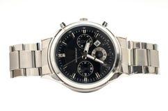 Les montres-bracelet des hommes Image libre de droits