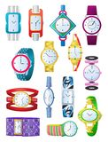 Les montres des femmes Image stock