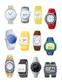 Les montres des hommes Photos libres de droits