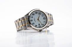 Les montres des hommes, réflexion Image stock
