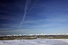 Les Monts Oural polaires Images libres de droits