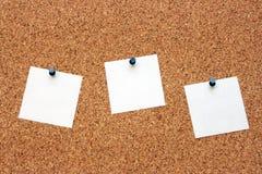 Les morceaux de papier purs photographie stock libre de droits