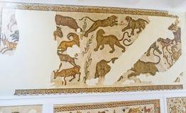 Les mosaïques avec des jaguars image stock