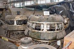 Les moteurs 1200 de Swoose B-17D HP Photos libres de droits