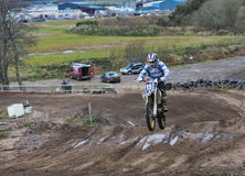 Les motocross d'Elgin pratiquent. Photo stock