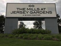 Les moulins aux jardins de débardeur en Elizabeth, New Jersey Photographie stock libre de droits
