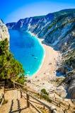 Les munitions célèbres de Platia échouent en île de Kefalonia, Grèce Photos stock
