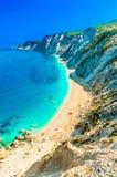 Les munitions célèbres de Platia échouent en île de Kefalonia, Grèce Images stock