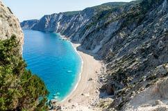 Les munitions célèbres de Platia échouent en île de Kefalonia, Grèce Images libres de droits