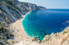 Les munitions célèbres de Platia échouent en île de Kefalonia, Grèce Photographie stock