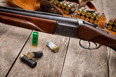 Les munitions du chasseur Images stock
