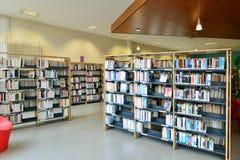 Les Mureaux, France - april 2 2016 :  multi media library Royalty Free Stock Photo
