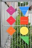 Les Mureaux, France - june 10 2016 : modern school Stock Images