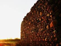 Les murs antiques de la forteresse à l'arrière-plan Photographie stock libre de droits