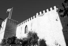 Les murs de Castillo De San Marco Photographie stock