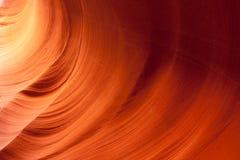 Les murs de la gorge inférieure d'antilope Image libre de droits