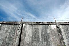 Les murs de prison photographie stock