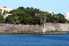 Les murs du Porto Rico Photo stock