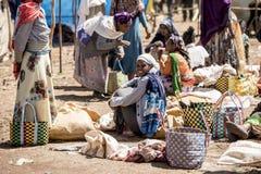 Les négociants éthiopiens Photo libre de droits